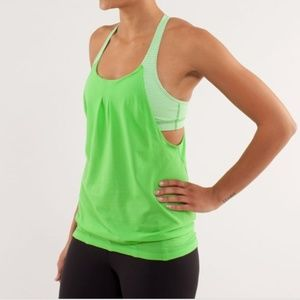 Lululemon Practice Freely Frond Gingham Tank 4